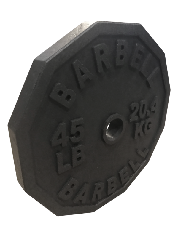 12 sided weights, hex weights, hex barbell plates, fake weights, 12-sided 45 weights, ,hex sets