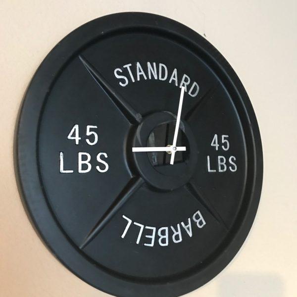 barbell wall clock, best, clocks