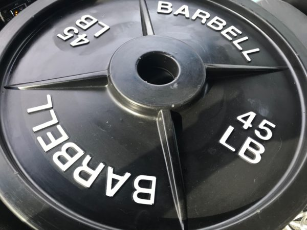 Barbell, Training weights, Fake Weights, Fake Olympic Plates, Plastic Weights, Weight Props, Prop Weights, fakeweights.com