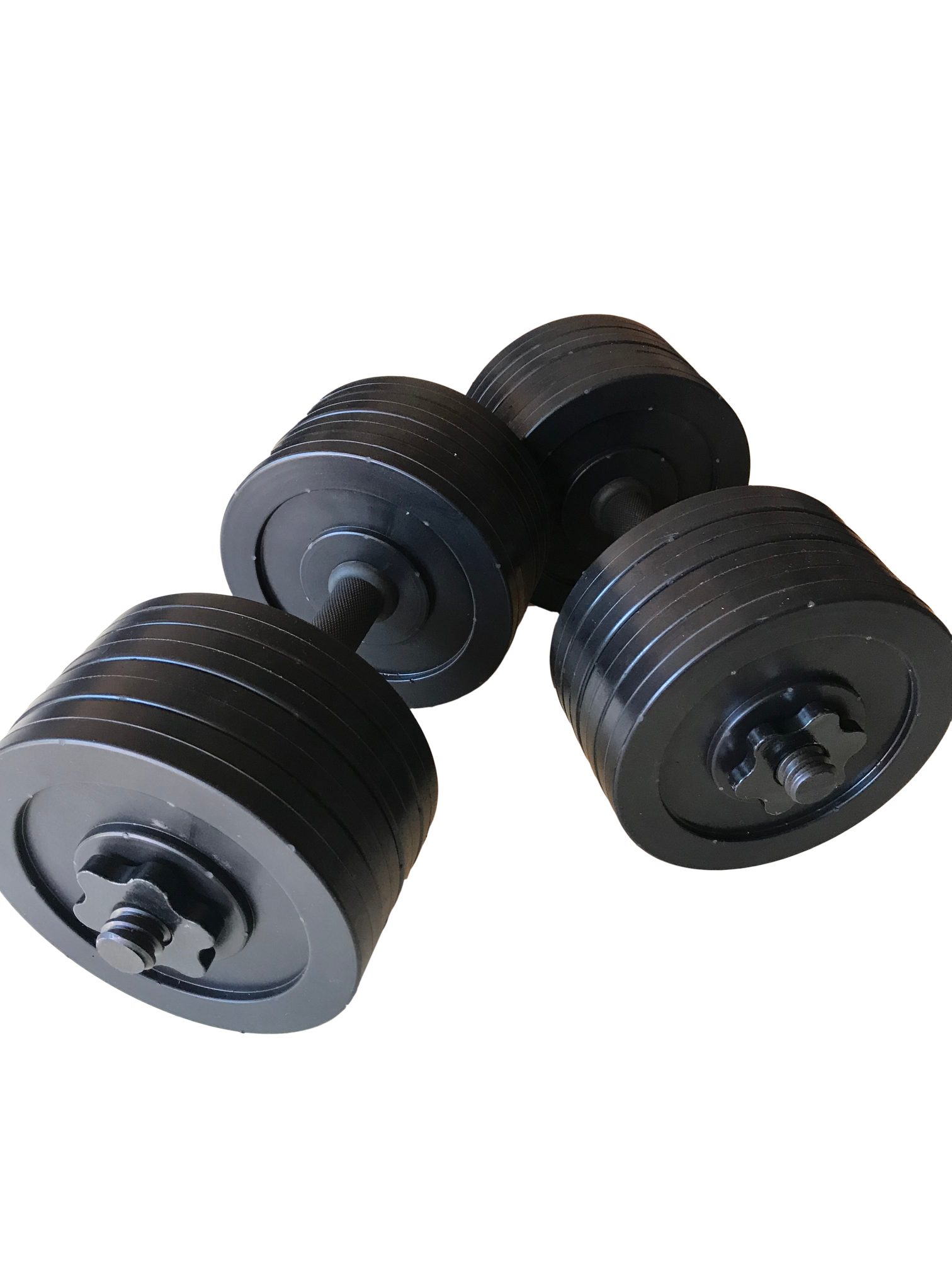 fake dumbbell weights 14 black dumbbell weight props truly one