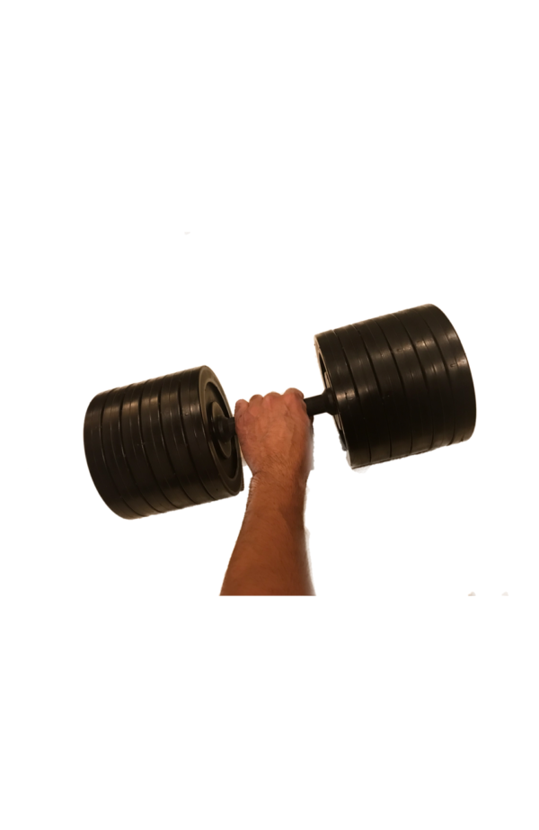 fake weights, fake dumbbells, dumbbell props, pop weights, training weights