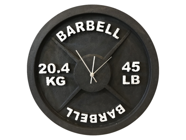 45lb barbell weight clock