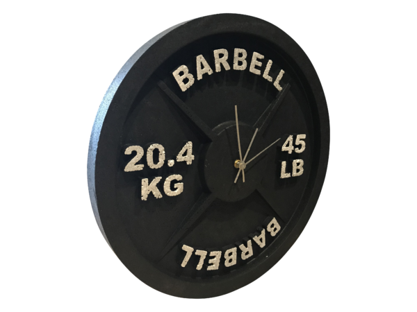 Barbell Wall Clocks