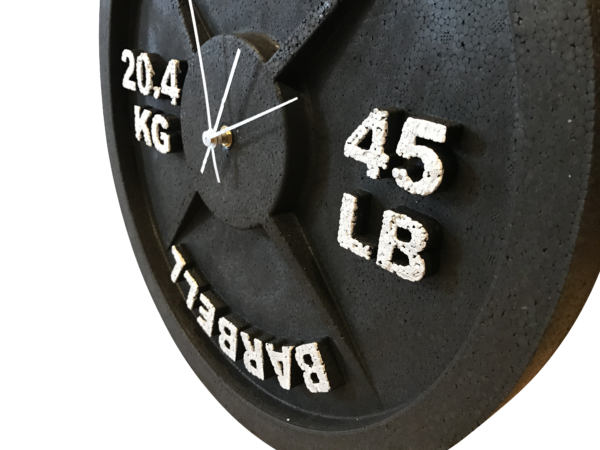 Barbell Wall Clock Best