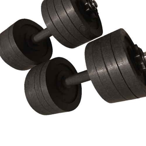 Fake Weights Dumbbells 20